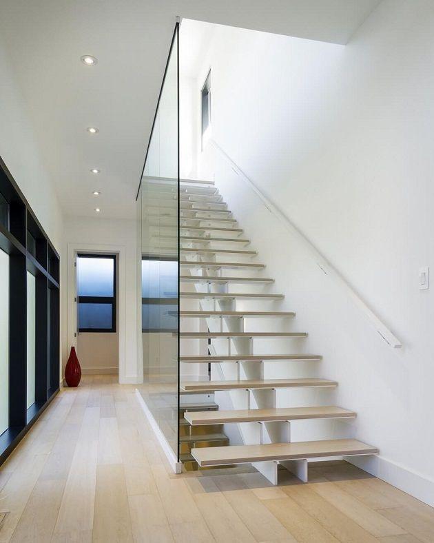 Blog de las mejores casas modernas vanguardistas - Escaleras casas modernas ...