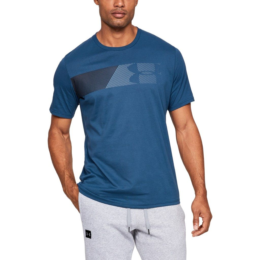 Under Armour Mens Mk1 Ss Wordmark Short-Sleeve Shirt