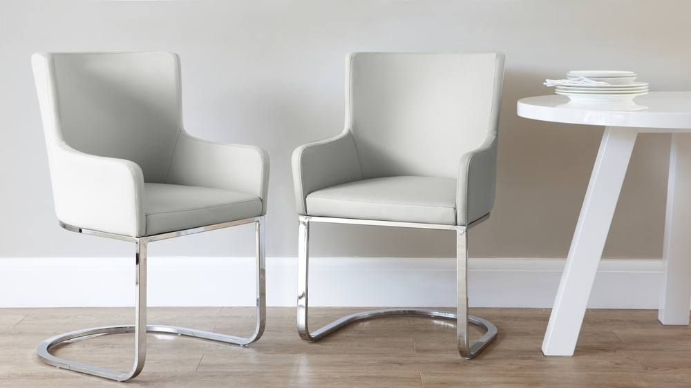Form Cantilever Dining Armchair Dining Chairs White Dining