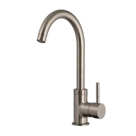 Mitigeur De Cuisine Delice Facon Inox Leroy Merlin 59 00 Unite Home Kitchens Home Decor Sink