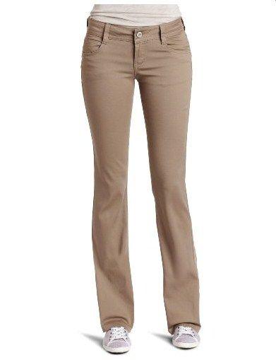 Southpole Juniors Basic Uniform Bootcut Pant, Khaki, 7 | Safra on ...