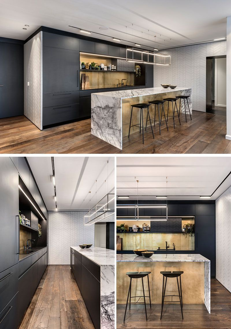 Best In This Modern Kitchen Matte Black Cabinets Have Been 400 x 300