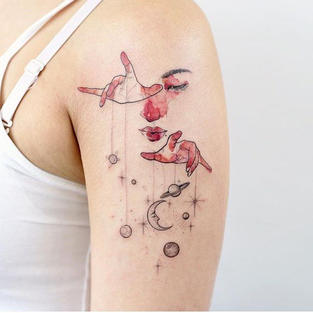 Why Do I Find This Tattoo Cool? O.o I Don't Even Know