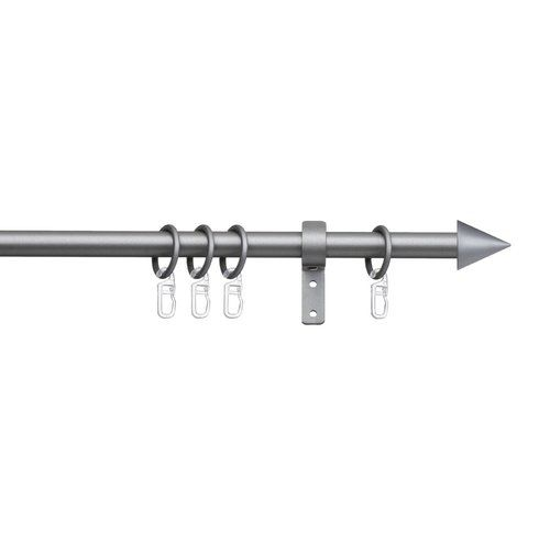Indeko Derby Single Curtain Rod And Hardware Set Products In