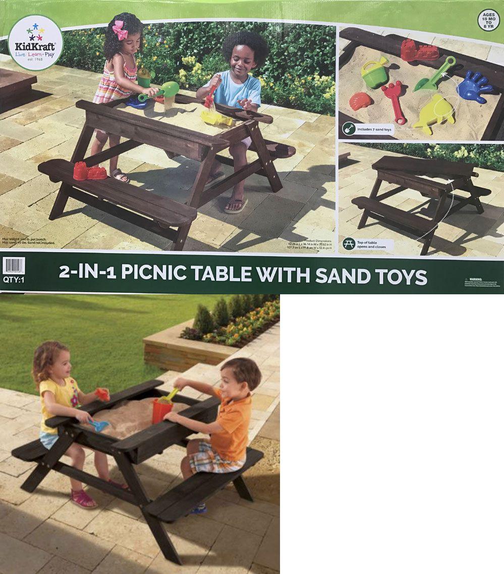 sandbox toys and sandboxes 145990 kidkraft backyard pirate sand