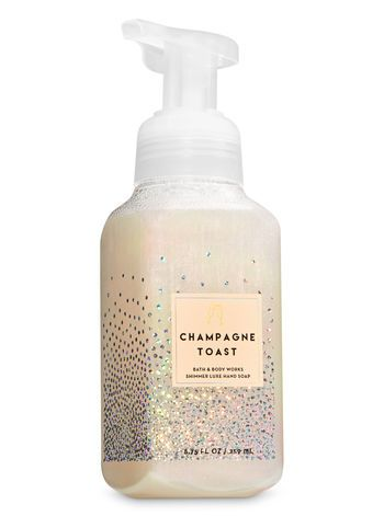 Champagne Toast Shimmer Luxe Hand Soap Bath And Body