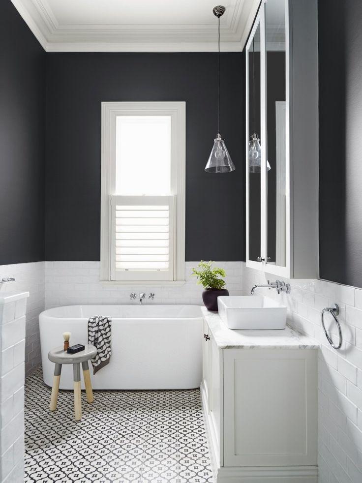 Image Result For White Metro Tile Bathroom