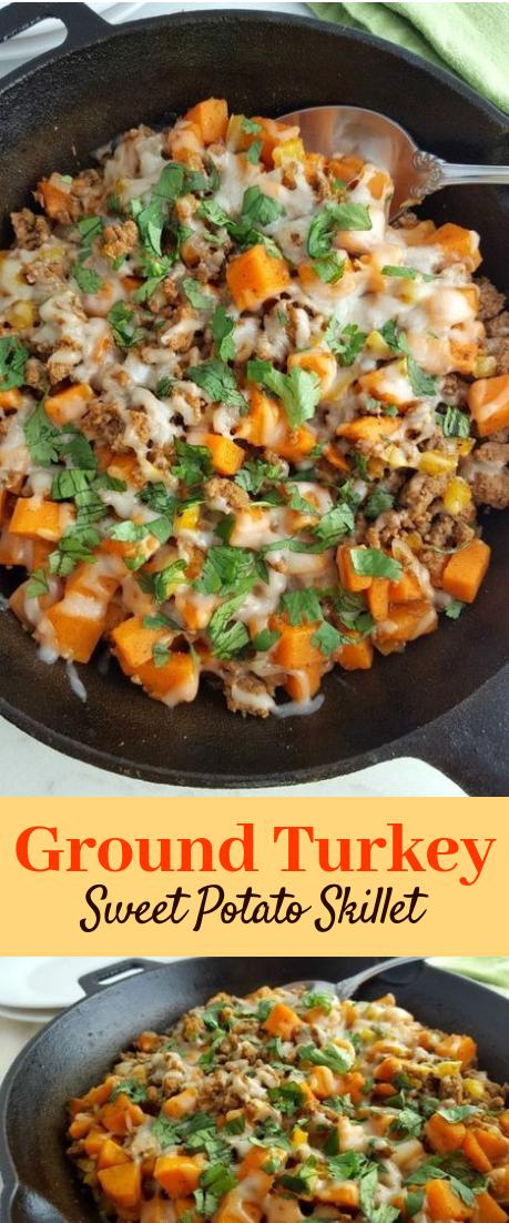 Photo of Ground Turkey Sweet Potato Skillet #vegan #recipe