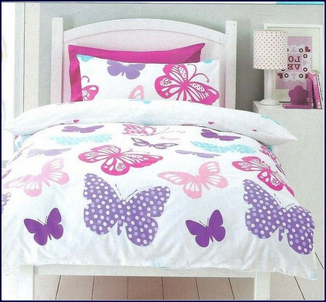 Kids Twin Of Bedding Sets Butterflies Single Twin Bed Quilt Doona