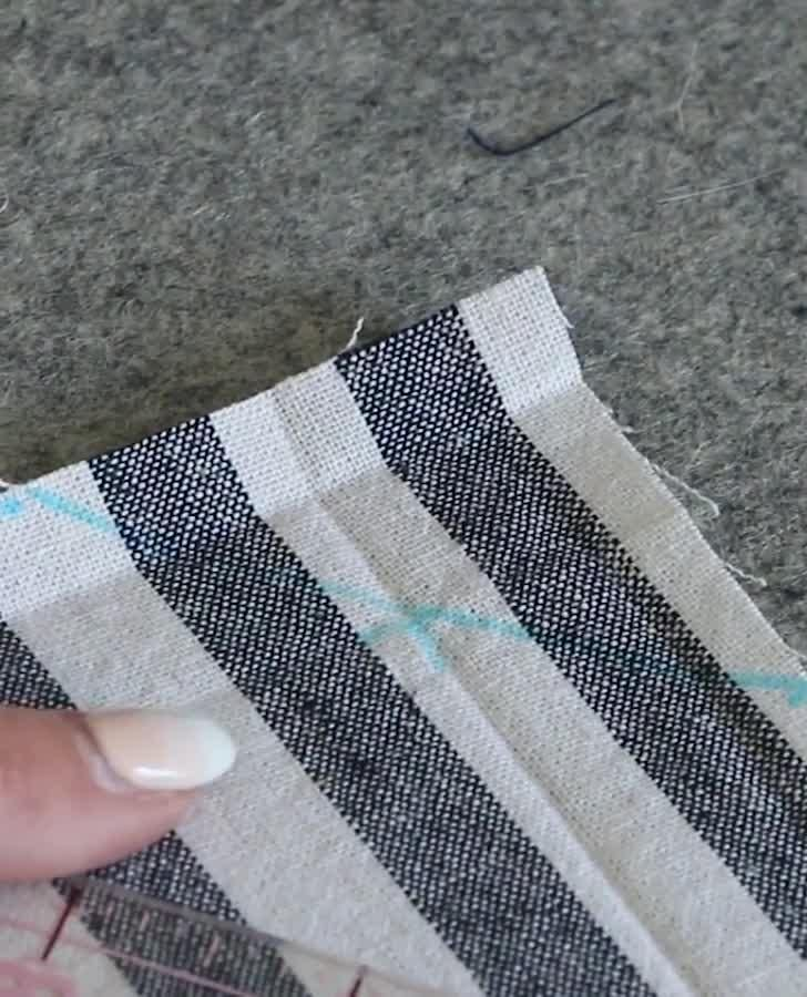 How to Sew Napkins with Mitered Corners - Learn to Sew Series