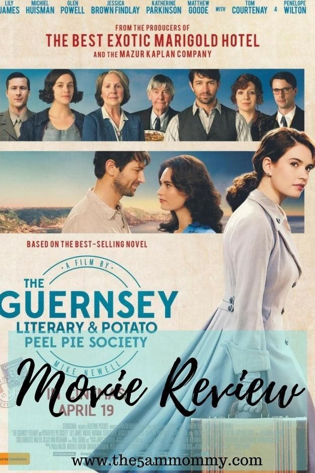 Movie Review The Guernsey Literary And Potato Peel Pie