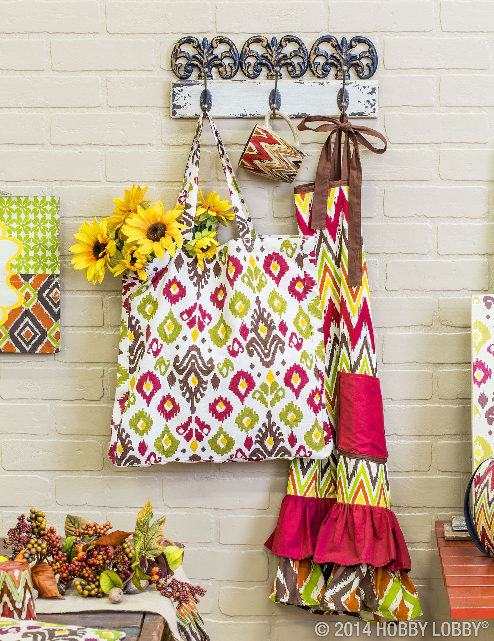 Cozy up to these trendy fall colors and patterns. (Sold in-stores only.)