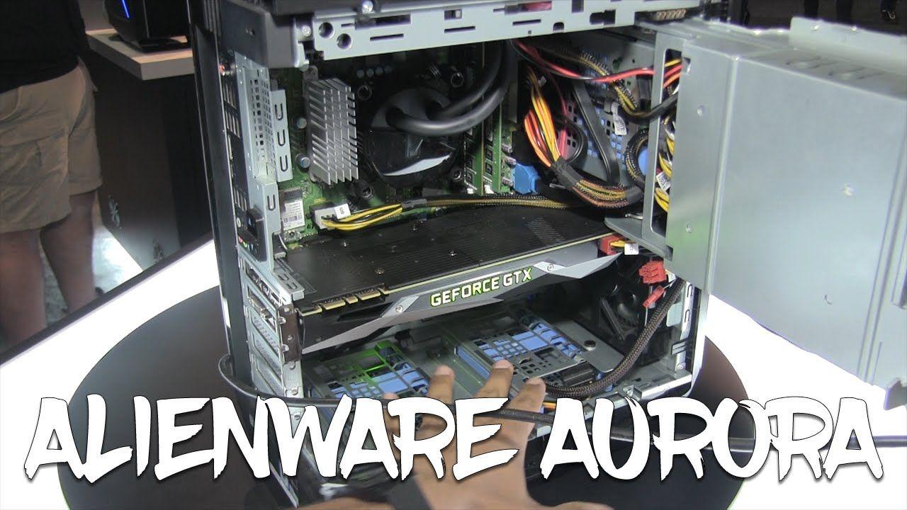 Run Down Alienware New Aurora R5 Gaming Desktop At E3 2016