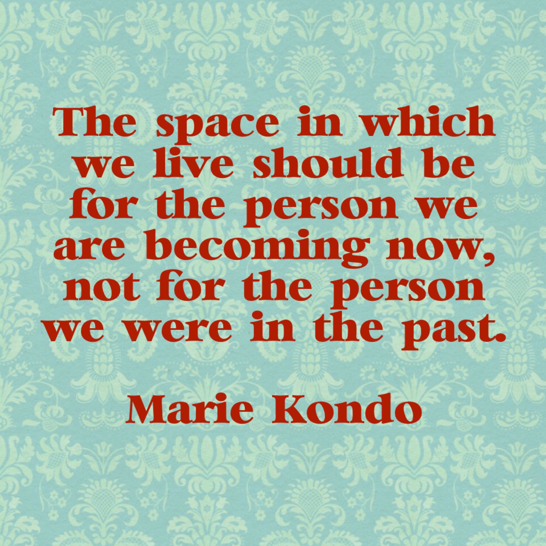 Marie Kondo Küche Marie Kondo Quote That Touched Me On Getting Rid Of Old