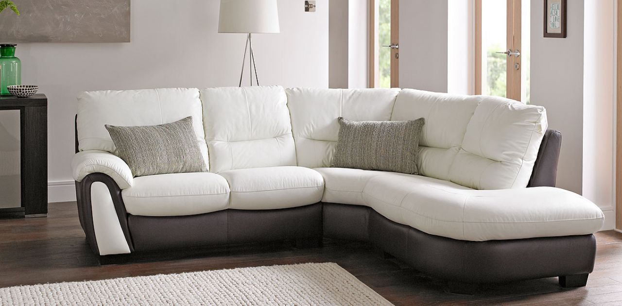 Hybrid Leather Corner Sofa Dfs Making Everyday More Comfortable