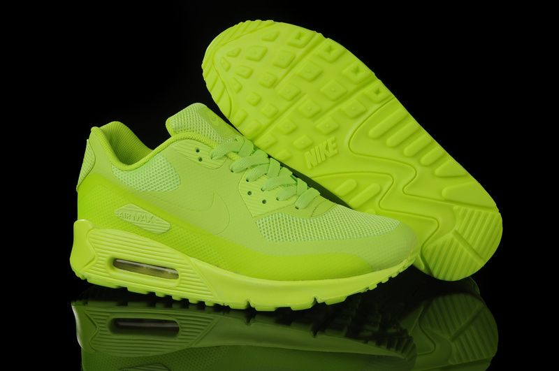 nike air max 90 hyperfuse volt yellow neon