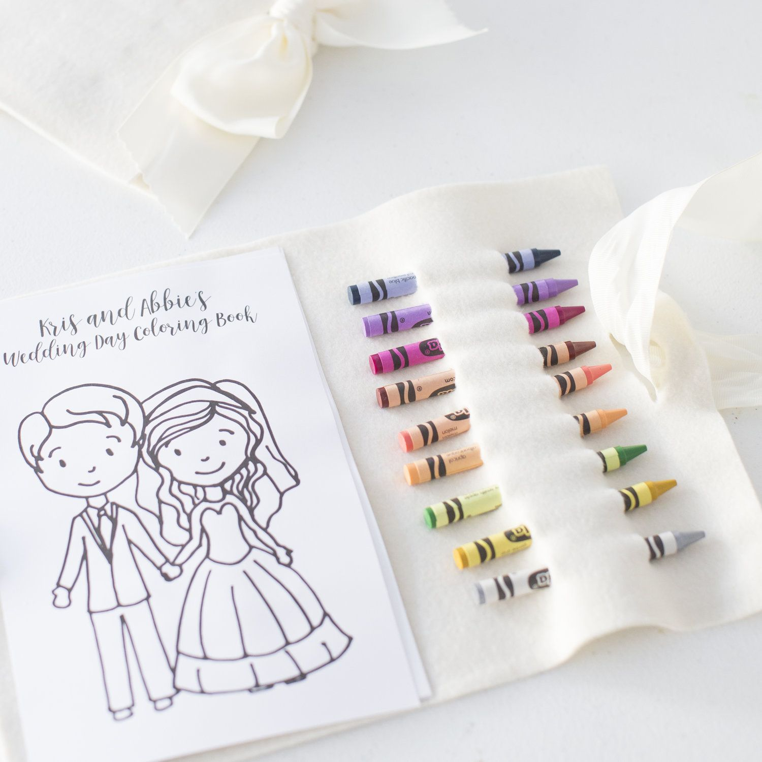 - Personalized Wedding Coloring Book Diy Coloring Books, Coloring