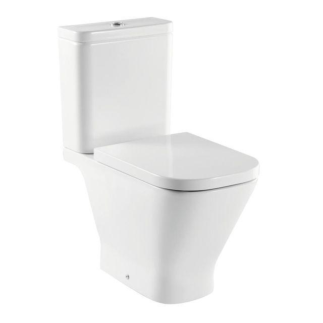 Wc Kompakt Gap Odplyw Uniwersalny Roca Toilet Bathroom Gap