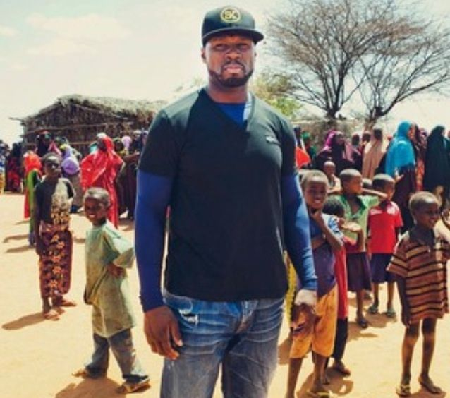 WHO KNEW? 50 Cent is traveling in Somalia and Kenya with the World Food Programme to document the suffering of the people in the country, who have also been impacted by war in the region.