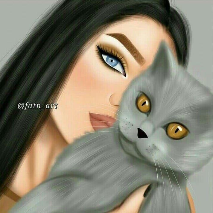 بتحبو القطط منشنو الي بحبو القطط رسم رقمي انمي لوحات نص رسمات بنات لايك اكسبلور Menina Tumblr Desenho Casal Anime Desenhos Artisticos