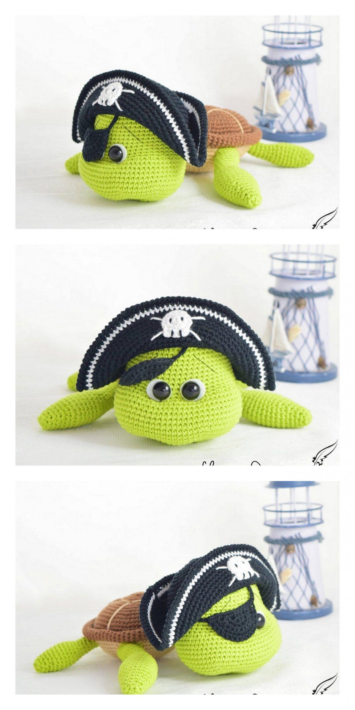 Amigurumi Cute Turtle Free Pattern – Free Amigurumi Patterns – Crochet