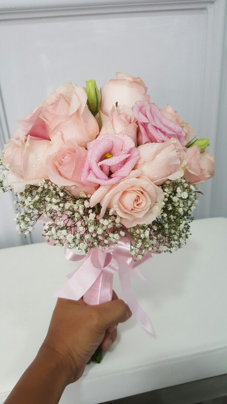 Pin by Faixalcreations Deco N Artz on fresh flower hand bouquet ...