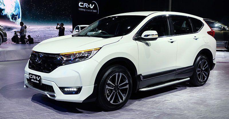 Honda Cr V 2017 Marca Onesa Revelou A Quinta Geração Do Suv Nos Eua Foi Totalmente Redesenhado E Começa Ser Vendido Ainda Nesta Temporad