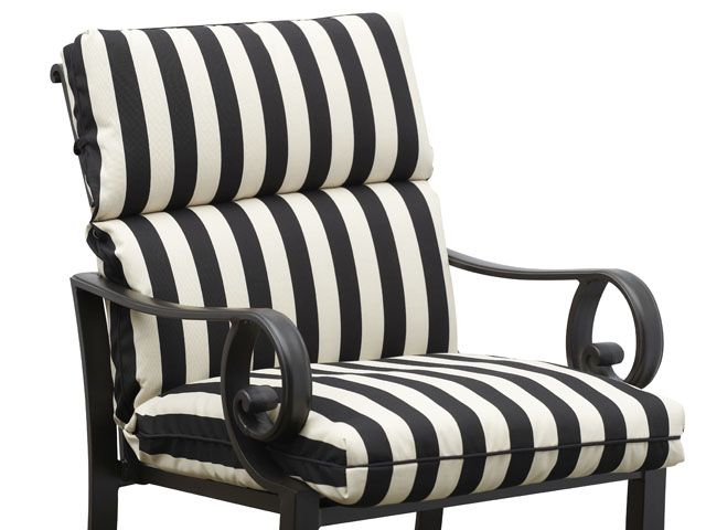 Striped Outdoor Cushions | Better Outdoor Cushions | Pinterest ...