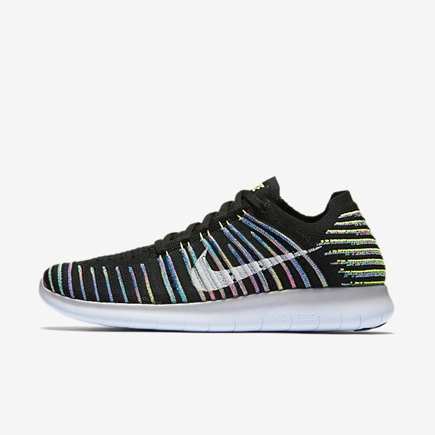 best website a07fd 43a1a Nike Free RN Flyknit Women s Running Shoe