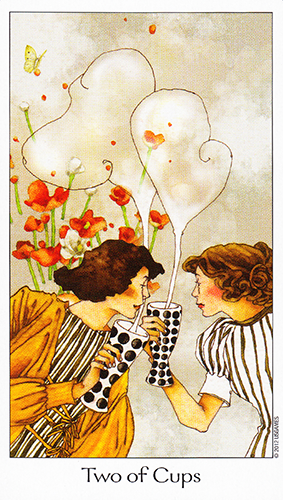 March 2014 Tarot Scopes featuring the Dreaming Way Tarot