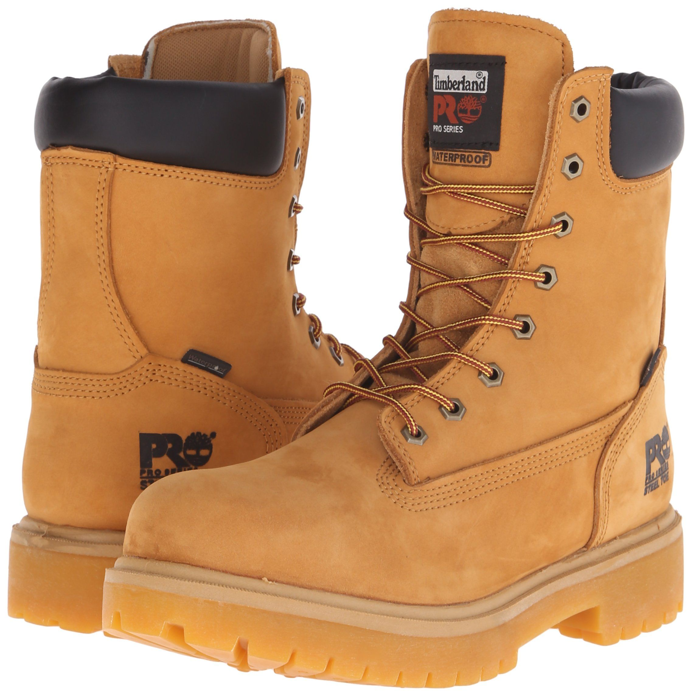 ea8558abe41 Timberland PRO Mens Direct Attach 8 Steel Toe BootWheat8.5 W >>> You ...