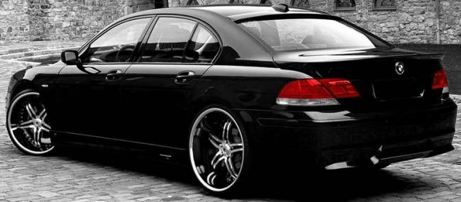 BMW 7 Series On Asanti AF144 2 Tone Wheels