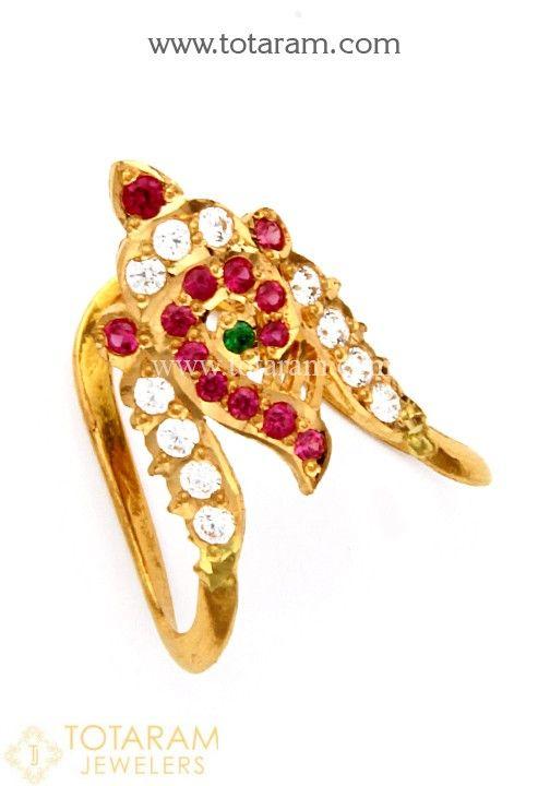 22K Gold Vanki Rings made in India Buy Online South Indian wedding
