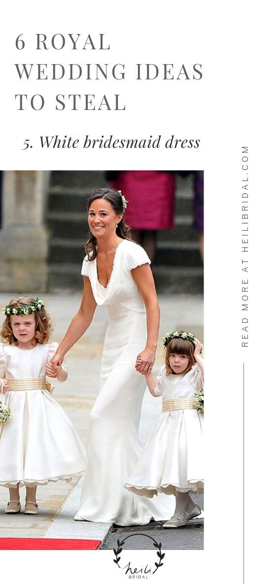 Royal Wedding Inspiration - 6 Trends To Steal From Royal Weddings
