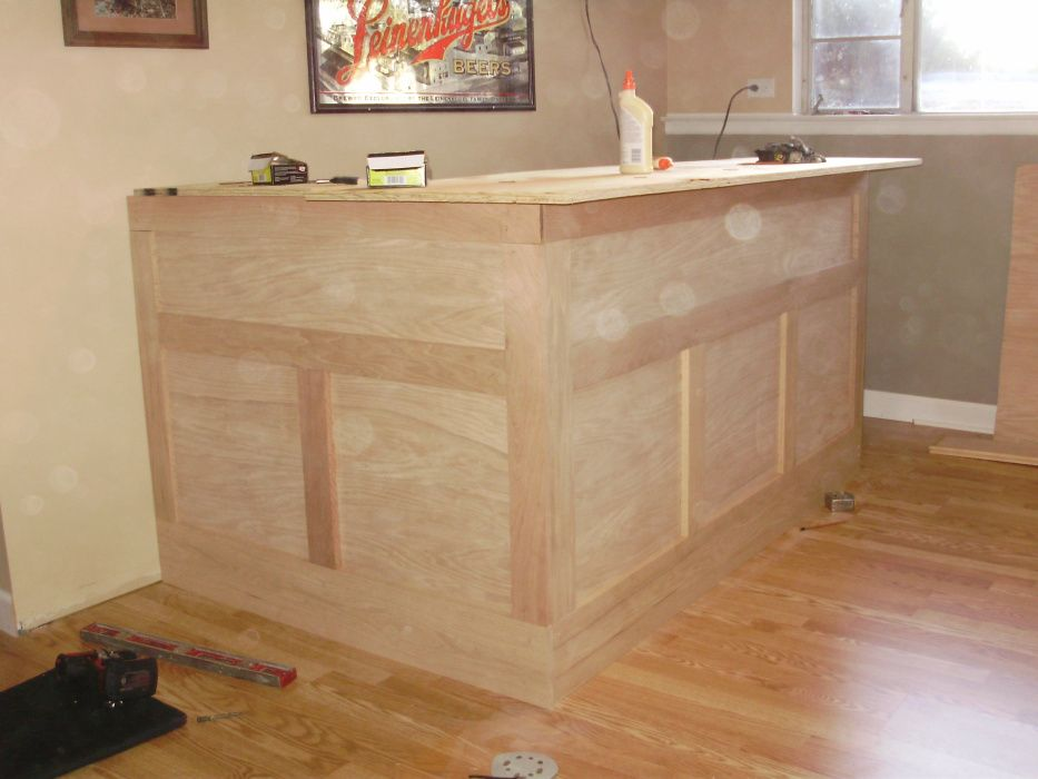 How to build your own home bar bar basements and men cave for Step by step to build a house yourself