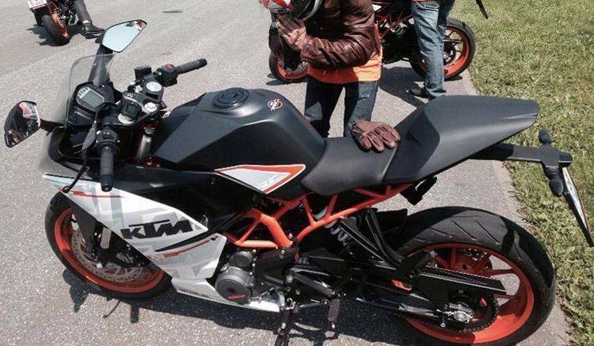 Ini Dia Spyshot KTM RC390 Terbaru di Eropa! http