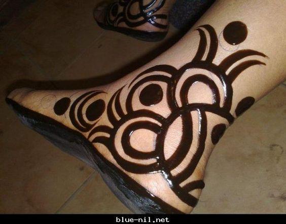 Sudanese Henna Henna Tattoo Designs Foot Henna Henna Patterns