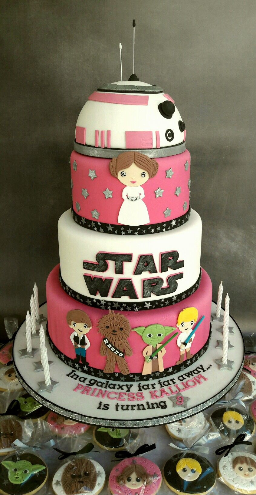 star wars wedding cake ideas princess leia wars cake and cookies my cakes 20506