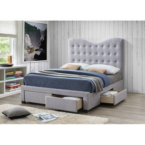 Best Ebern Designs Couto Upholstered Bed Frame Upholstered 400 x 300