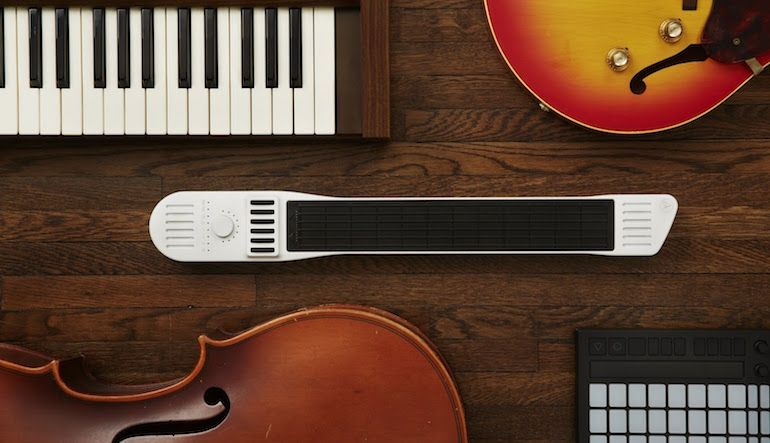 Artiphon Instrument 1 aims to be a universal MIDI controller, can be played like a guitar, keyboard, or violin   KeyboardMag