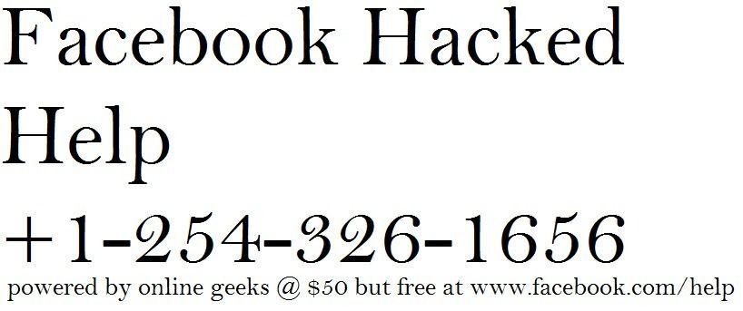 Facebook Help Center Hacked Facebook Hacked Help 12543261656  Facebook