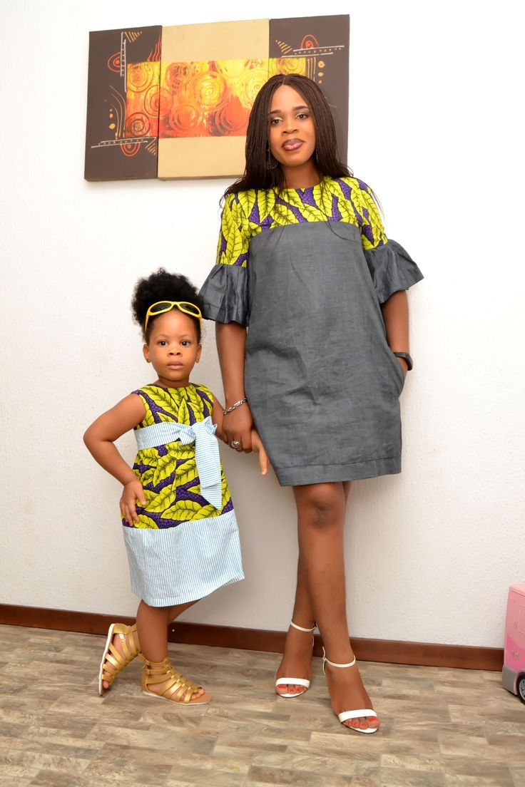 African Inspired Dress/ African Fashion/ African Style/ Ankara Girl Dress/ Kiddies Ankara Dress #africanfashion