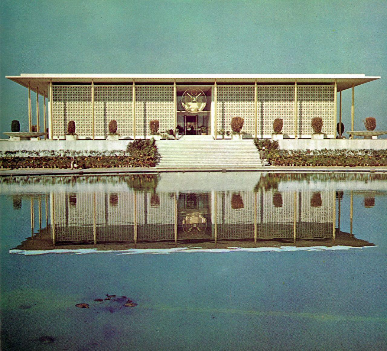 N85 Residence In New Delhi India: U.S. Embassy, New Delhi India (1959)