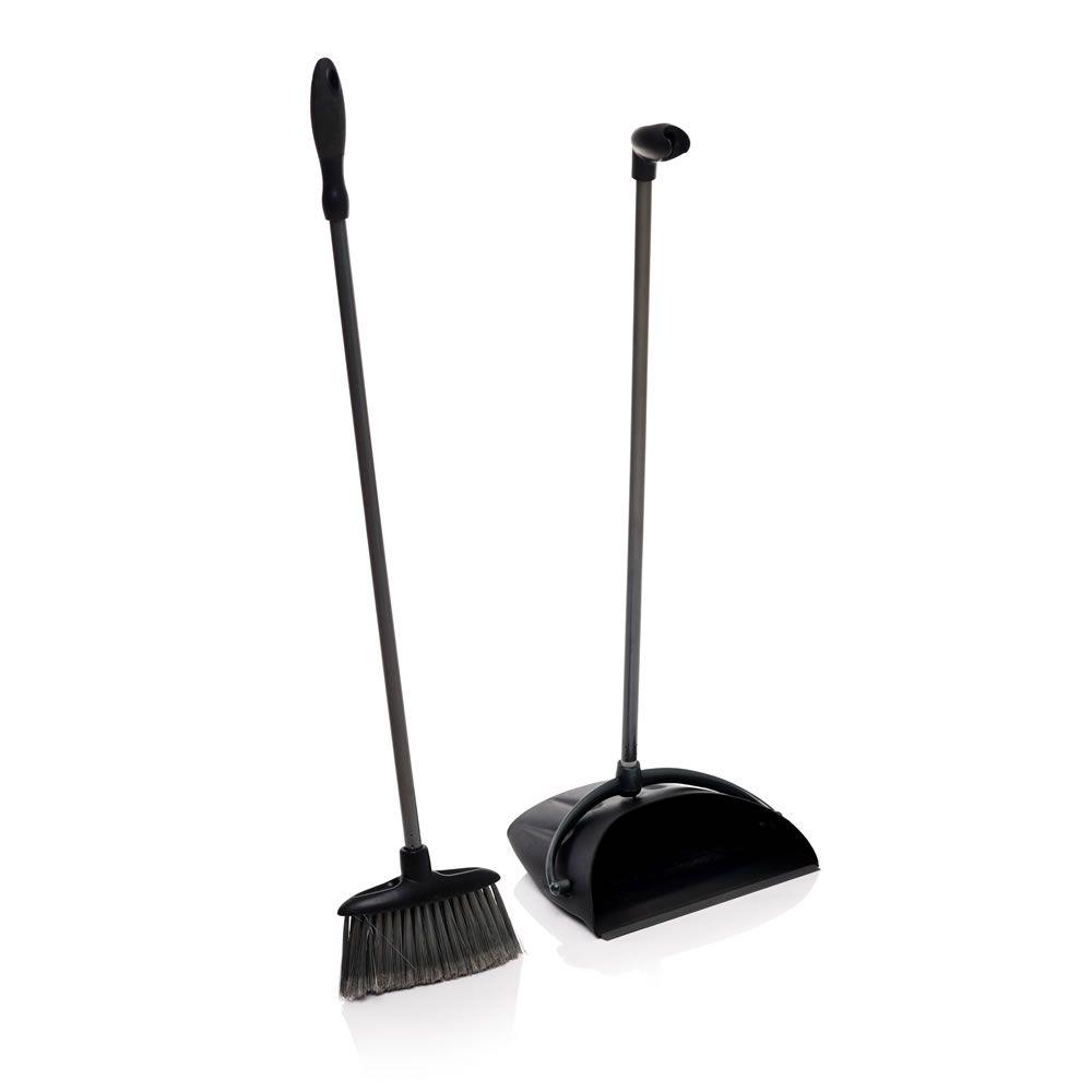wilko soft grip dust pan and brush long handle set at wilkocom