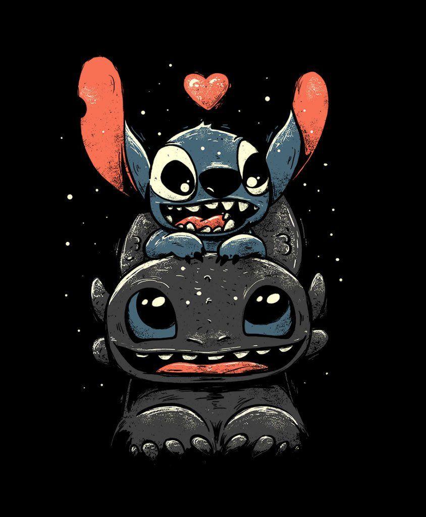 Camiseta Dark Dragon E Blue Monster Preto - Masculina (Preto, XGG)