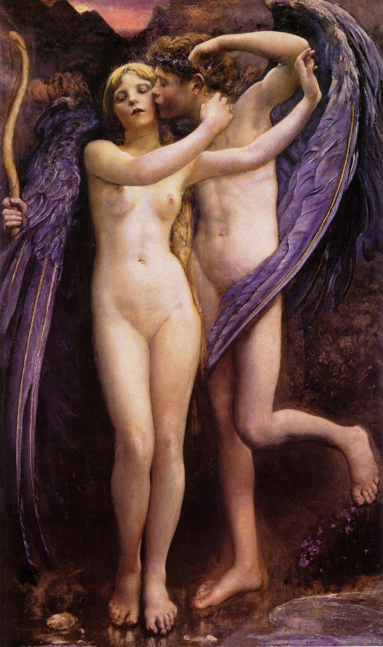 Cupid and Psyche (1891), Annie Swynnerton. Veja também…
