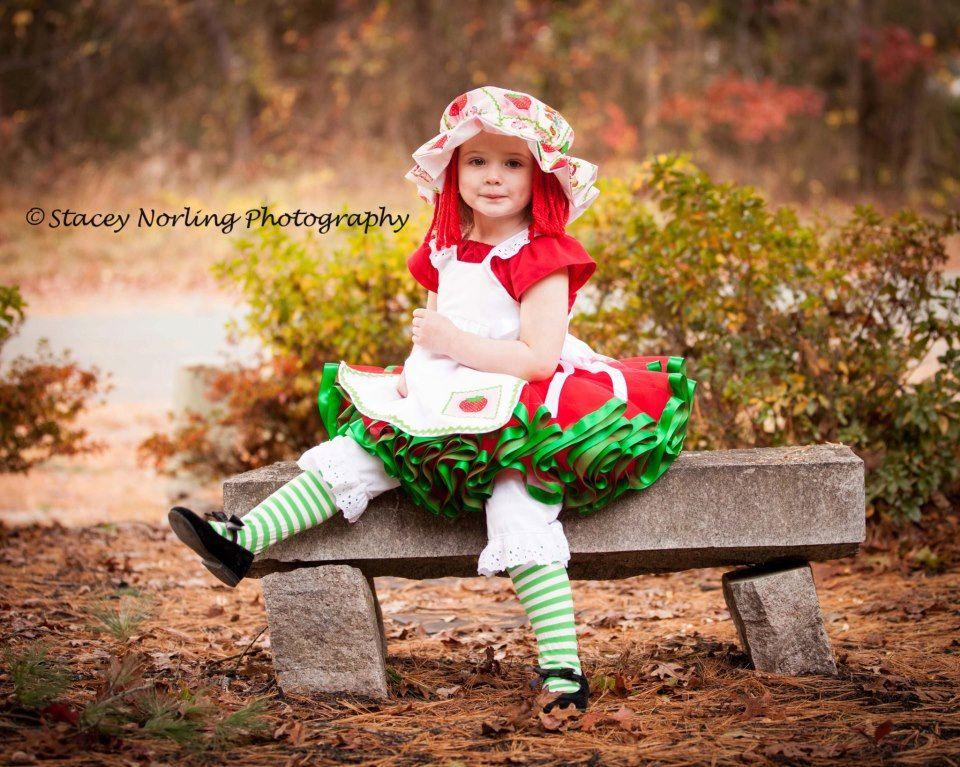 Strawberry Shortcake tutu costume