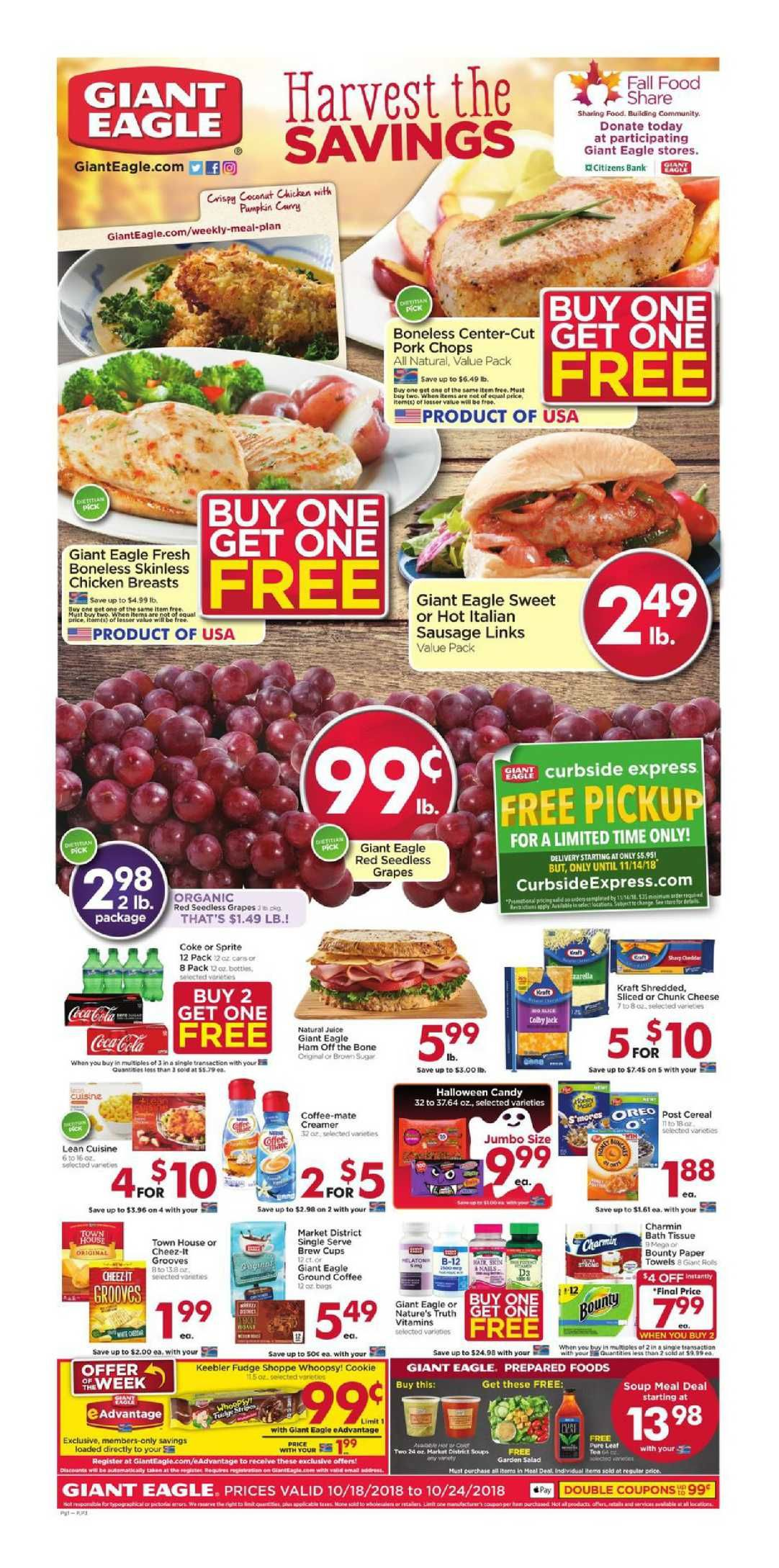 Giant Eagle Weekly Ad Flyer February 27 March 04 2020 Giant