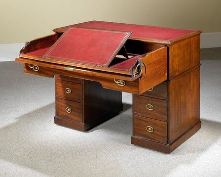 This rare mechanical architect's desk by Gillows of Lancaster is a wonder  of Regency furniture. - This Rare Mechanical Architect's Desk By Gillows Of Lancaster Is A