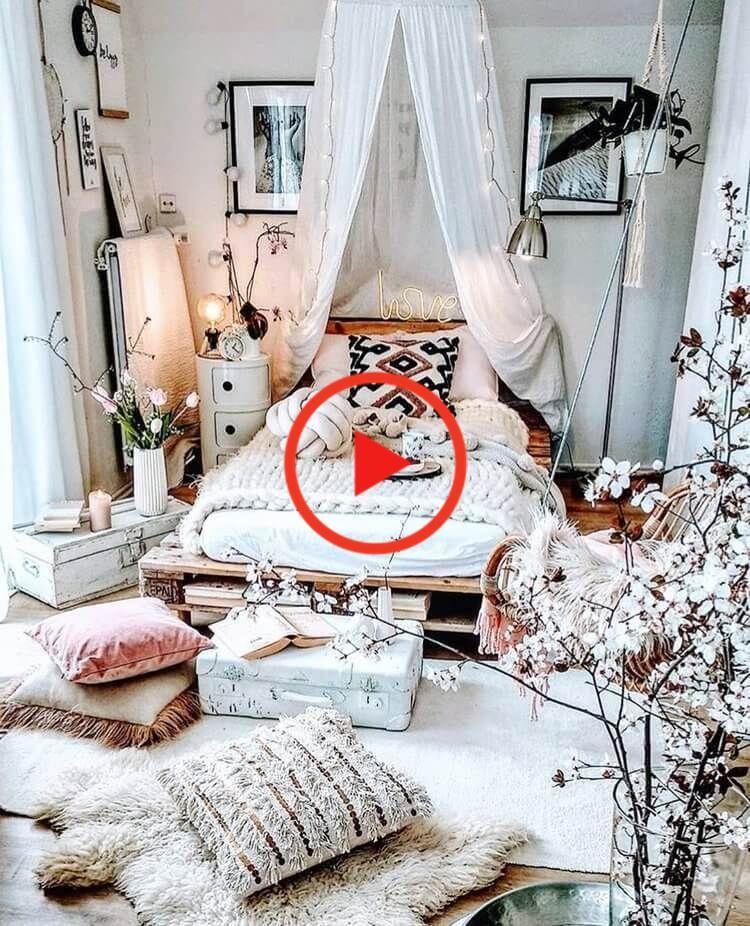 Bohemian Schlafzimmer Bohemian Schlafzimmer Dekor Schlafzimmer Bohemian In 2020 Bohemian Bedroom Decor Bedroom Design Minimalist Bedroom